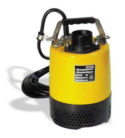 PSA2 500 Single Phase Submersible Pump 110V/60Hz 2/3HP, (Best Wacker Submersible Pumps)