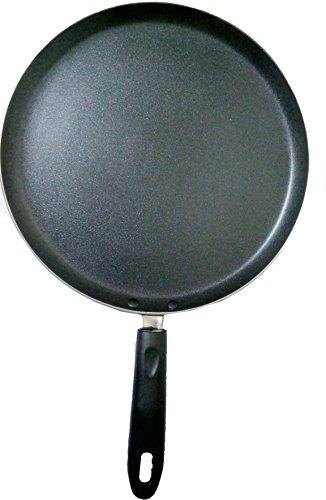 Shradha Trading Non Stick Dosa Pan, Non Stick Dosa Tawa, Dosa Pan,Frying Pan, Cookware Pan, Omlette Pan, Non Stick Frying Pan, Nonstick Round Griddle Cookware, Size 300 mm Thickness 2.4 mm