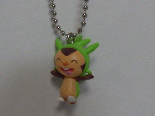 Pokemon XY Original Keychain Figure~ 650 Chespin/Harimaron /gamaro/Marisson~32mm