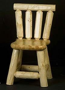 Madera asiento silla de comedor (transparente)