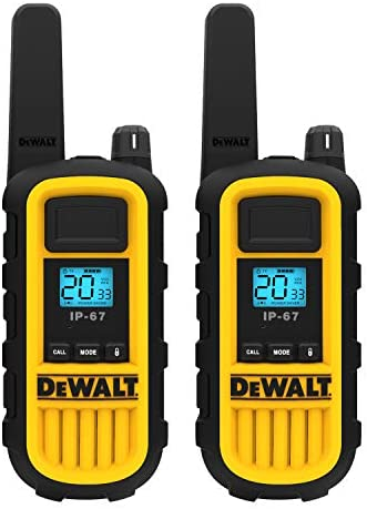 DEWALT DXFRS800 2 Watt Heavy Duty Walkie