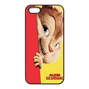 Alvin and the Chipmunks iPhone 4 4s Cell Phone Case Black Wppcw