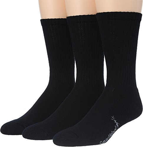 Smartwool Men's Heathered Rib 3-Pair Pack Black X-Large