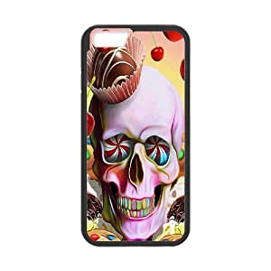 Case Cover For Apple Iphone 6 Plus 5.5 Inch Colorful skeleton Phone Back Case Use Your Own Photo Art Print Design Hard Shell Protection FG043314