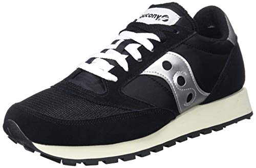 Vintage Mens Original Suede Black White S70368 Jazz Trainers Saucony 10 A6HZPqZn