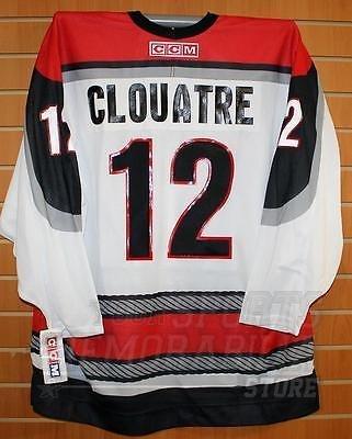 - Clouatre Portland Pirates #12 AHL CCM Official Replica Hockey Jersey XL