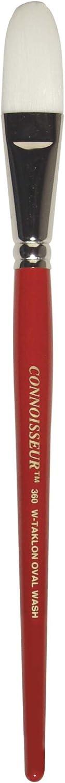 Connoisseur White Taklon All Media 0 Round