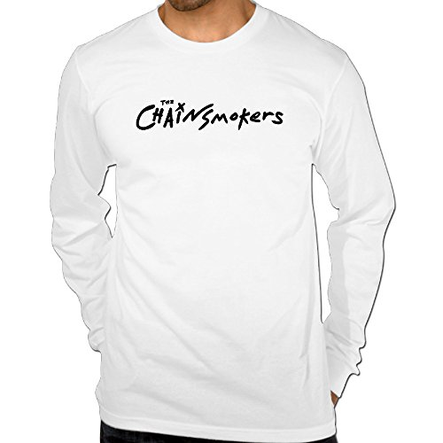Men's The Chainsmokers Logo Cotton Long Sleeve - Fit Pall