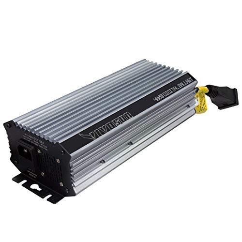 VIVOSUN 400 Watt Dimmable Electronic Digital Ballast w/Enhanced Internal Fan Cooled Operation 25% Less Heat Generated for 15% Longer Service Life