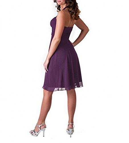 Leader of the Beauty - Vestido - para mujer morado Morado Oscuro 46