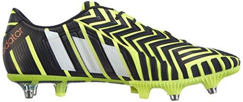 adidas Predator Instinct Sg - zapatillas de fútbol de material sintético hombre amarillo - Gelb (Light Flash Yellow S15/Ftwr White/Dark Grey)