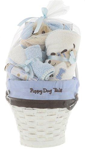 Regent Baby Crib Mates Gift Set Basket CM3577, Blue/Pink