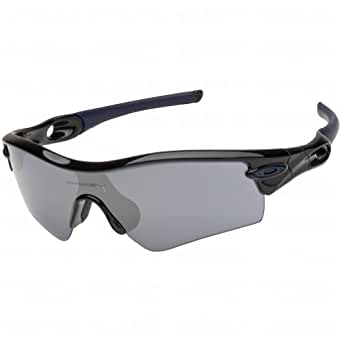 Oakley Radar Path Polished Black Black Iridium Navy Sunglasses