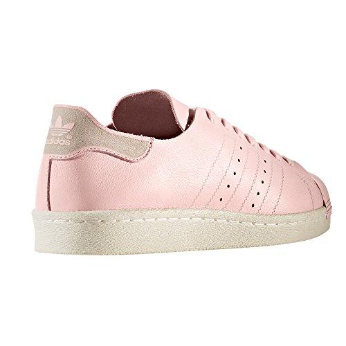 y Deportivas Icey Rosa Zapatillas Sneakers 80s Mujer Superstar Blanca White para Adidas Pink qTpt4