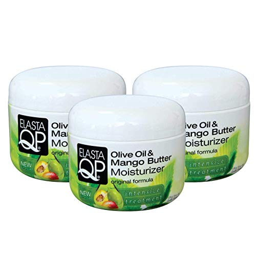 Elasta Glaze Qp - Elasta QP Glaze Mango Butter Moisturizer (3 Pack) - For Softer Fuller Looking Hair, Intensive Treatment, Strengthens, Thermal Protecting, Moisturizing, Adds Shine, 6 oz