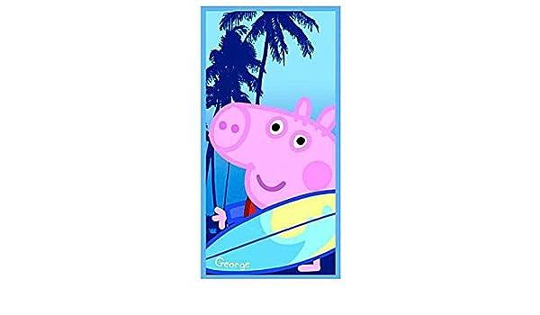 C&C Toalla Playa Peppa Pig 70 x 140 cm playa juegos de playa piscina Natación # AG17 5204679693135: Amazon.es: Hogar