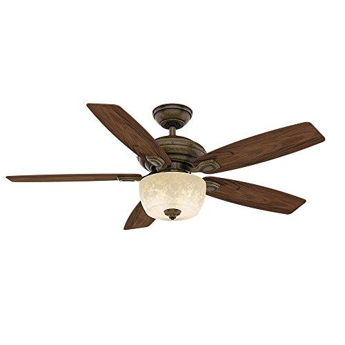 aged bronze ceiling fan - 4