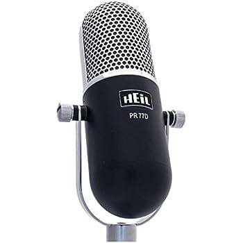 heil pr 77d large diaphragm dynamic microphone vintage style musical instruments. Black Bedroom Furniture Sets. Home Design Ideas