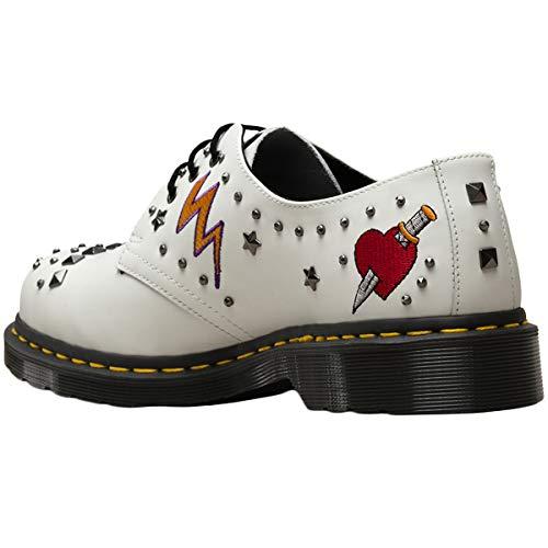 Dr Martens Chaussures Blanc Rockabilly 1461 YrpxzqY