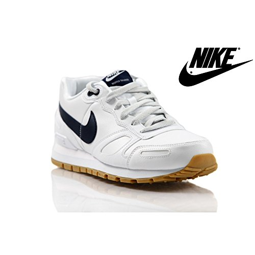 Chaussures Air Blanc Nike Trainer Waffle Homme Leather 102 454395 w8Pzdq0