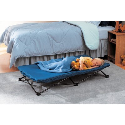 Regalo My Cot Portable Toddler Bed (Navy)