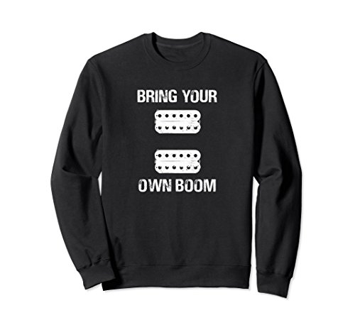 BYOB Active Passive Humbucker Pickups Lead Rhythm Sweatshirt (Humbucker Rhythm)