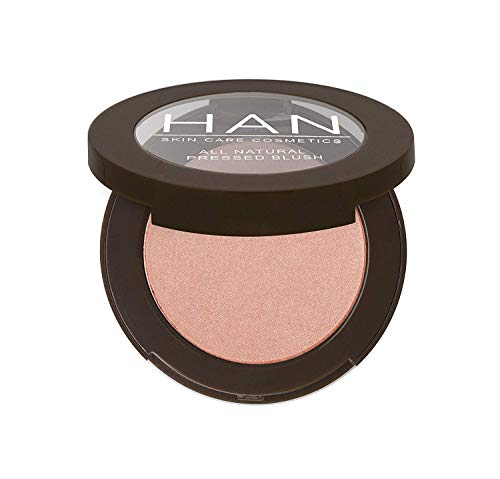 HAN Skincare Cosmetics All Natural Pressed Blush, Glory