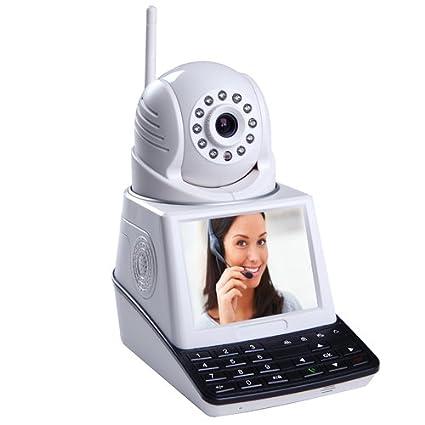 Cámara IP WiFi con alarma antirrobo todo en uno: Amazon.es ...