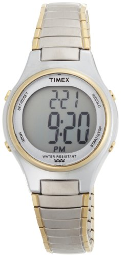 Timex Women's T2N313 Core Digital Two-Tone Expansion Band Watch