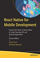 React Native for Mobile Development, 2nd Edition Front Cover