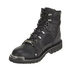 Harley-Davidson Men's Performance Roger Motorcycle Boots. D96080 (Black, 11.5)