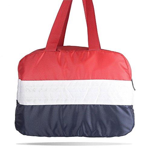 mk. park - Lightweight Fold Holiday Travel Picnic Overnight Weekend Sports Gym Duffle Bag