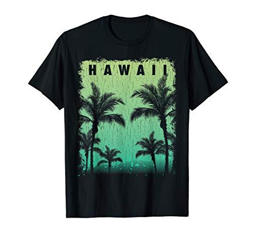 Aloha Hawaii Hawaiian Island T shirt Vintage 1980s Throwback