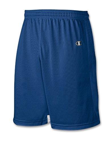 Mästare Dubbla Dry® Mens Lacrosse Shorts # Lx45 Atletisk Royal / Vit