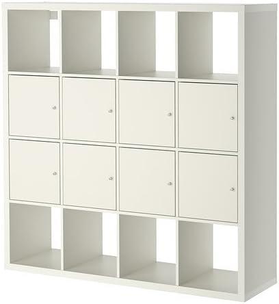 IKEA KALLAX - estantería con 8 fotos, blanco - 147 x 147 cm ...