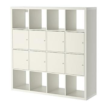 IKEA – estantería con 8 insertos, blanco 26382.52314.1612