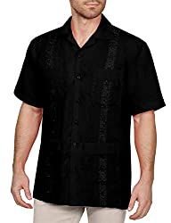 Men's Short Sleeve Cuban Guayabera Shirts