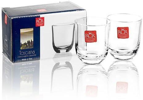 RCR Crystalleria italiana 247210 set 2//bicchierini da liquore