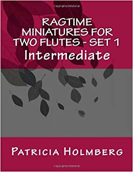 Book Ragtime Miniatures for Two Flutes - Set 1