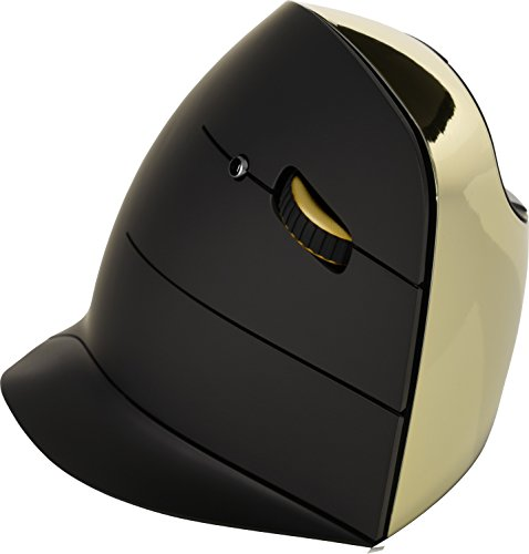 Evoluent VerticalMouse C Series Gold, Wireless Right Hand (VMCRWG) by Evoluent