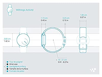 Withings Activité Steel - Activity and Sleep Tracking Watch -