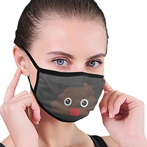 Funny Mouth Cover Dustproof Washable Reusable Kiss Poop Face Fashion Respirator Protective Safety Warm Windproof for Women Men