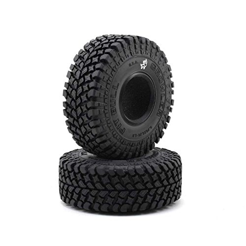 Pit Bull RC 1.9 Growler, Alien Kompound, with Foam Inserts (2) (Rc Pit Bull Tires)