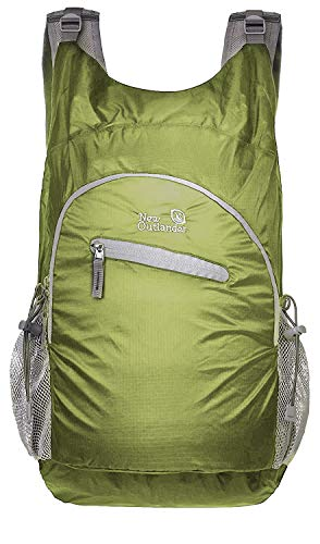 Outlander Ultra Lightweight Packable Water Resistant Travel Hiking Backpack Daypack