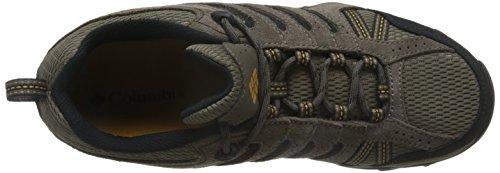 Columbia Men's Plains II Hiking Shoe, Sand, Squash, 8 D US