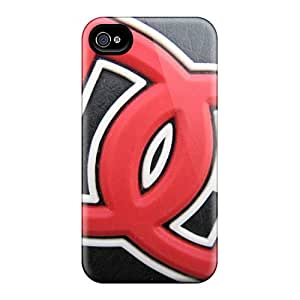 ZhiqiangYao Iphone 6 Well-designed Hard Cases Covers Dc Leather Protector