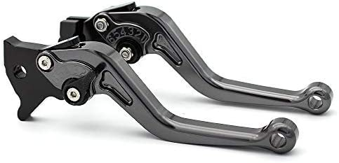 GS500E 1994-1998 GS500 1989-2008 GSF 600S BANDIT 1996-2003 GS500F 2004-2009,GSF 250 All Years FXCNC Racing Aluminum Adjustable Brake Clutch Levers for GSF600 BANDIT 1995-2004