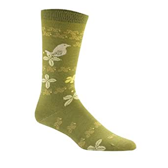 Wigwam Women's Tweet Sock Medium Frog Green