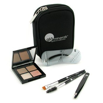 [glominerals Brow Collection Kit - Taupe] (Glominerals Tools)