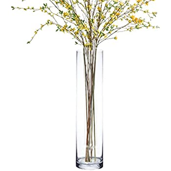 Amazon Extra Tall Flower Marker Clear Glass Vase Home Kitchen